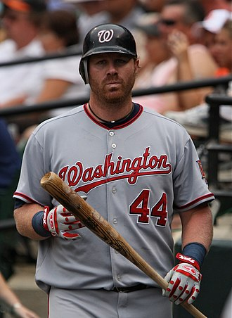 Adam Dunn - Dunn with the Nationals in 2009