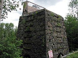 Adk Iron and Steel, 1854 Blast Furnace.JPG