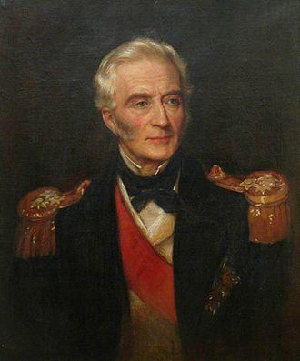 Michael Seymour (Royal Navy officer, born 1802) - Portrait of Admiral Seymour