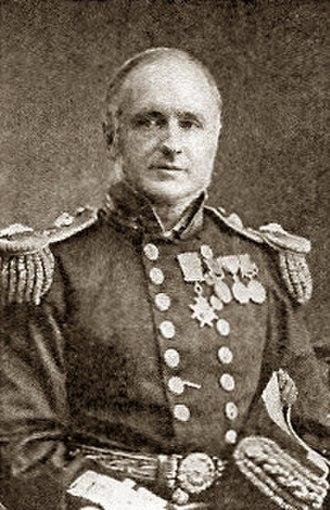 Richard Vesey Hamilton - Photograph of Hamilton as a Rear Admiral