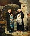 Adolf Humborg Zwei Mönche im Weinkeller.jpg