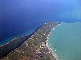 Cape Farina - View of the cape