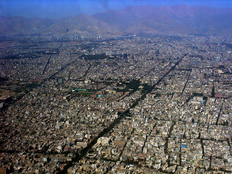 File:Aerial View of Central Tehran.jpg
