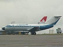 Aeroporto di Bratsk--AeroBratsk Yakovlev Yak-40 Osokin