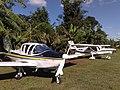 Aeronaves no Aérodromo 10-04-2010 - Hotel Fazenda Água Azul. - panoramio - Rodrigo V. Zabini.jpg