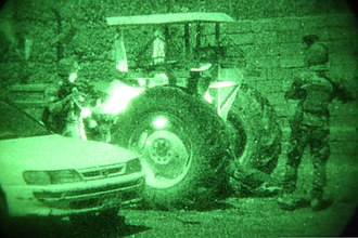 Monochrome - Color monochrome: night vision devices usually produce monochrome images, typically in shades of green