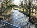 Afon Lwyd, Llanfrechfa Way, Cwmbran - geograph.org.uk - 1704526.jpg