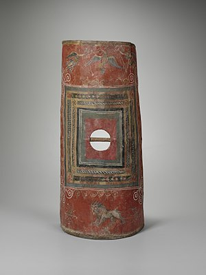 Scutum (shield) - Scutum found at Dura Europos