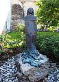 Agnes Bernauer Statue Vohburg Lkr Pfaffenhofen Oberbayern.JPG