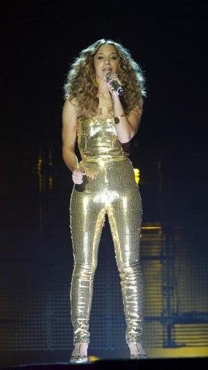 "Agnes Carlsson - Agnes performing ""Love Love Love"" in the Swedish Melodifestivalen 2009"