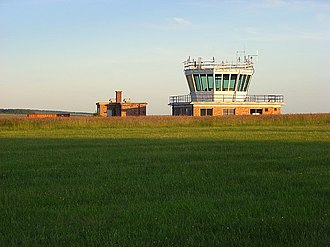 Netheravon Airfield - Control tower in 2007