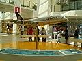 Airbus A380 model on display in Bremen Airport.JPG