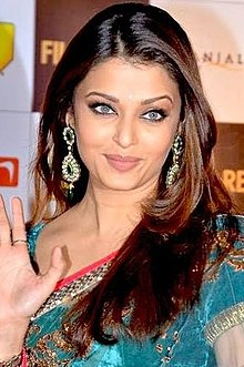 Aishwarya rai88 at the 55th Filmfare Awards .jpg