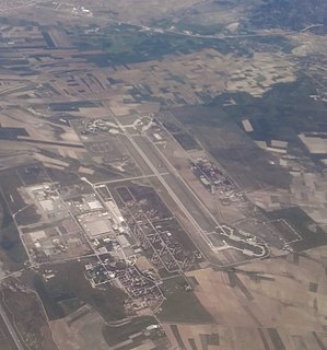 Mürted Airfield Command an air base of the Turkish Air Force located northwest of Ankara, Turkey.