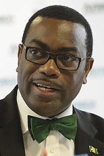 Akinwumi Adesina African agriculture expert