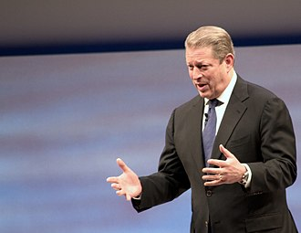 An Inconvenient Truth - Gore gives a keynote address on sustainability at SapphireNow 2010 in May 2010
