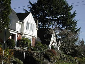 Alameda Ridge - Homes on the Alameda Ridge, Alameda Neighborhood.