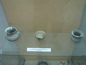 National Museum of the Union - Image: Alba Iulia National Museum of the Union 2011 Cotofeni Culture Vessels, Stone and Bone Tools 1