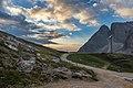 Alba al rifugio Alpe di Tires.jpg