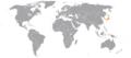 Albania Japan Locator.png