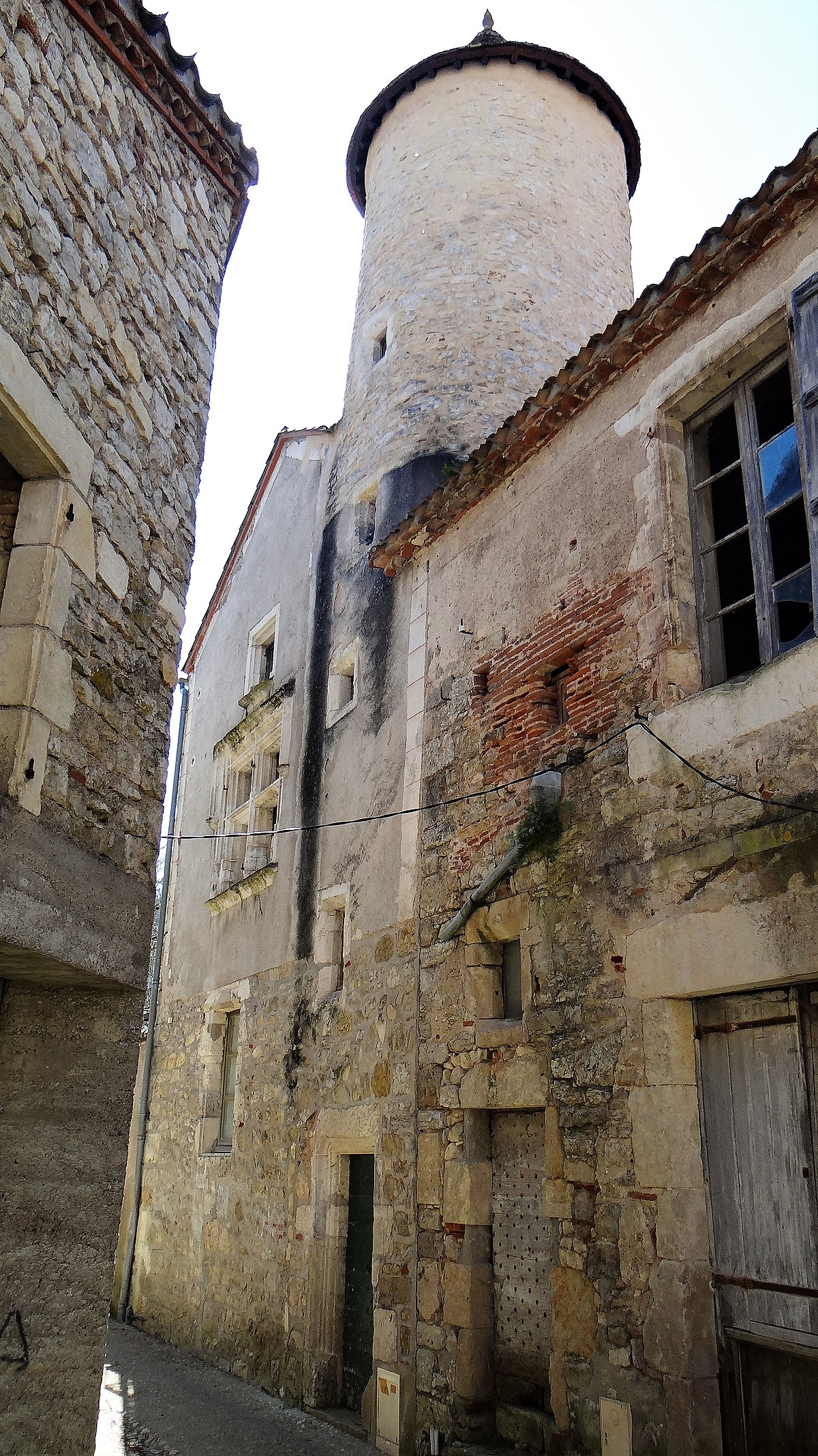 Escalier Dans La Maison file:albas - maison des mirepoises - façade sur la rue avec