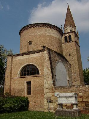 Albert Azzo II, Margrave of Milan - Albert Azzo II tomb – Vangadizza Abbey – Badia Polesine