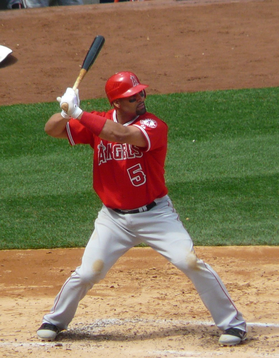 Albert Pujols on April 14, 2012