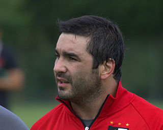 Alberto Vernet Basualdo Argentine rugby union player
