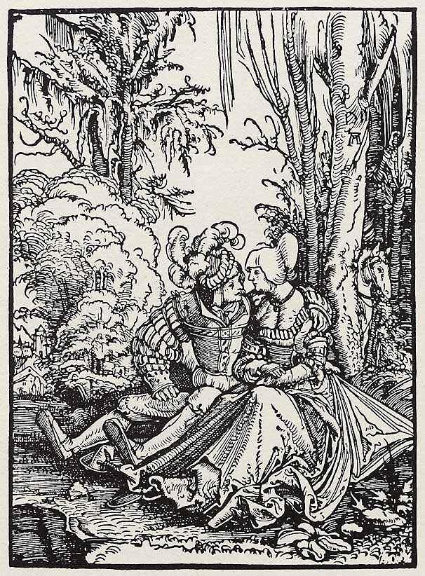 Albrecht Altdorfer Liebespaar