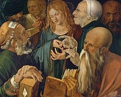 Albrecht Dürer: Christ among the Doctors