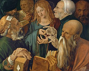 Albrecht Dürer - Jesus among the Doctors - Google Art Project.jpg