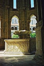 Fonte no Mosteiro de Alcobaça.