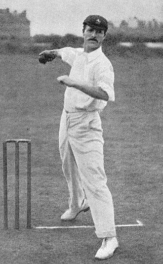 Alec Hearne - Image: Alec Hearne cricketer