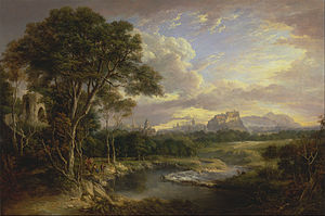 Alexander Nasmyth - Alexander Nasmyth - View of the City of Edinburgh