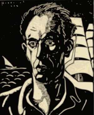 Alexandru Bassarab - Self-portrait
