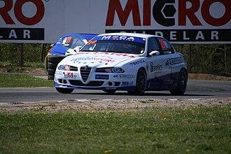 Scandinavian Touring Car Championship - Mattias Andersson's Alfa Romeo 156.