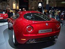 Alfa Romeo 8C Competizione - Wikipedia