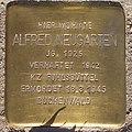 Alfred Neugarten - Fabriciusstraße 22 (Hamburg-Bramfeld).Stolperstein.crop.ajb.jpg