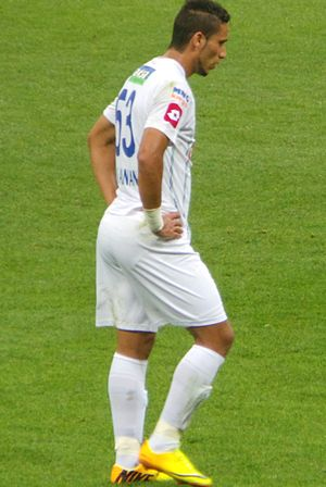 Ali Adnan Kadhim - Ali Adnan playing for Çaykur Rizespor against Galatasaray, 28 September 2013