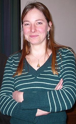 Alice Roberts on 15 February 2007 at Broadmead...