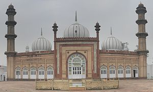 Aligarh Muslim University - SS Masjid beside Strachey Hall, AMU Aligarh