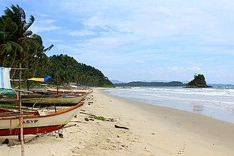San Vicente, Palawan - Alimanguan Beach