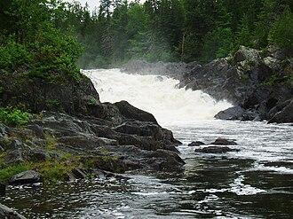 Allagash River - Allagash Falls