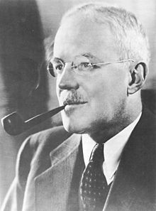 A photograph of Allen Dulles, the Deputy Director of Central Intelligence