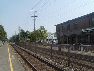Allenhurst, New Jersey - Allenhurst station, which is served by NJ Transit's North Jersey Coast Line
