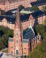 Allhelgonakyrkan–flygbild 06 september 2014-2.jpg