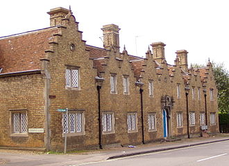 Almshouse - The almshouse at Woburn, Bedfordshire