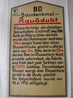 Altenbrak aqueduct info