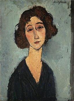 Amedeo Modigliani - Jeune Femme