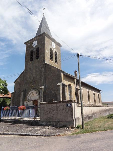 Amel-sur-l'Étang (Meuse) église